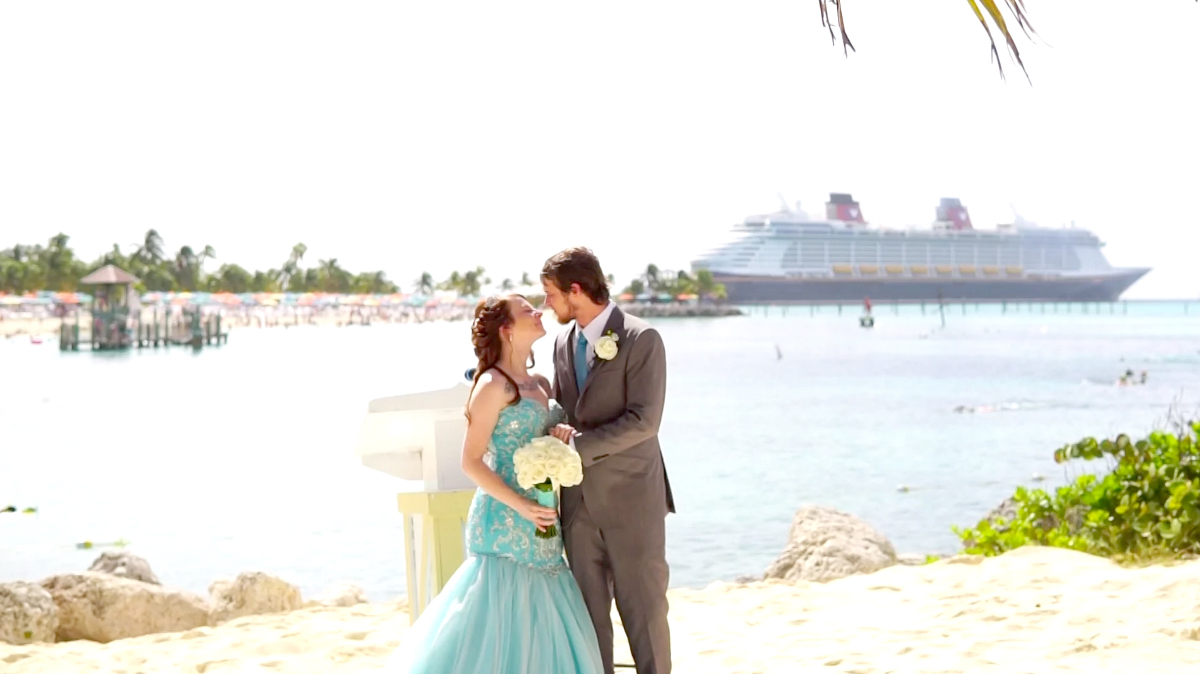 Castaway Cay Wedding Photographer Video Videography Cruise